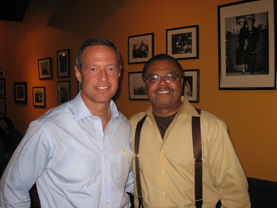 With Governor Martin O'Malley